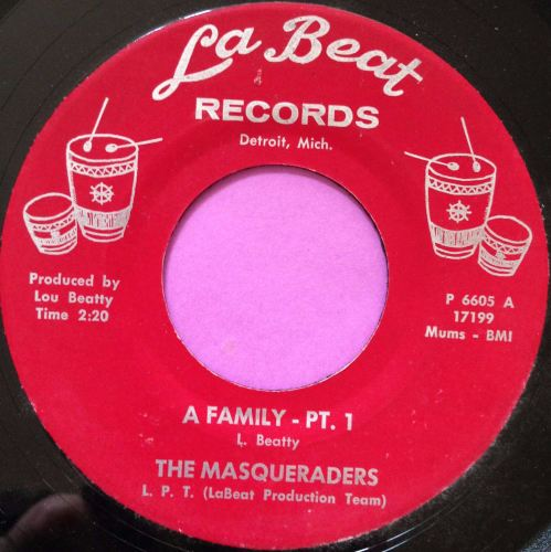 Masqueraders-A Family-LaBeat E+