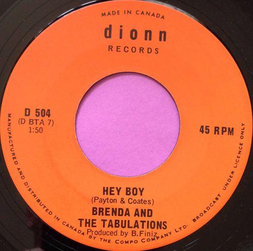 Brenda and Tabulations-Hey boy-Dionn E+