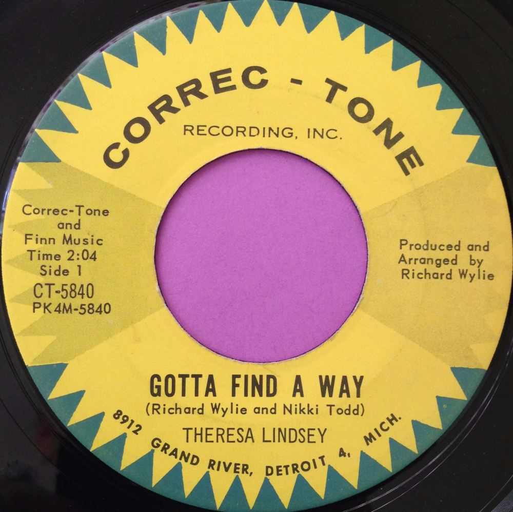 Theresa Lindsey-Gotta find a way-Correc-tone E+