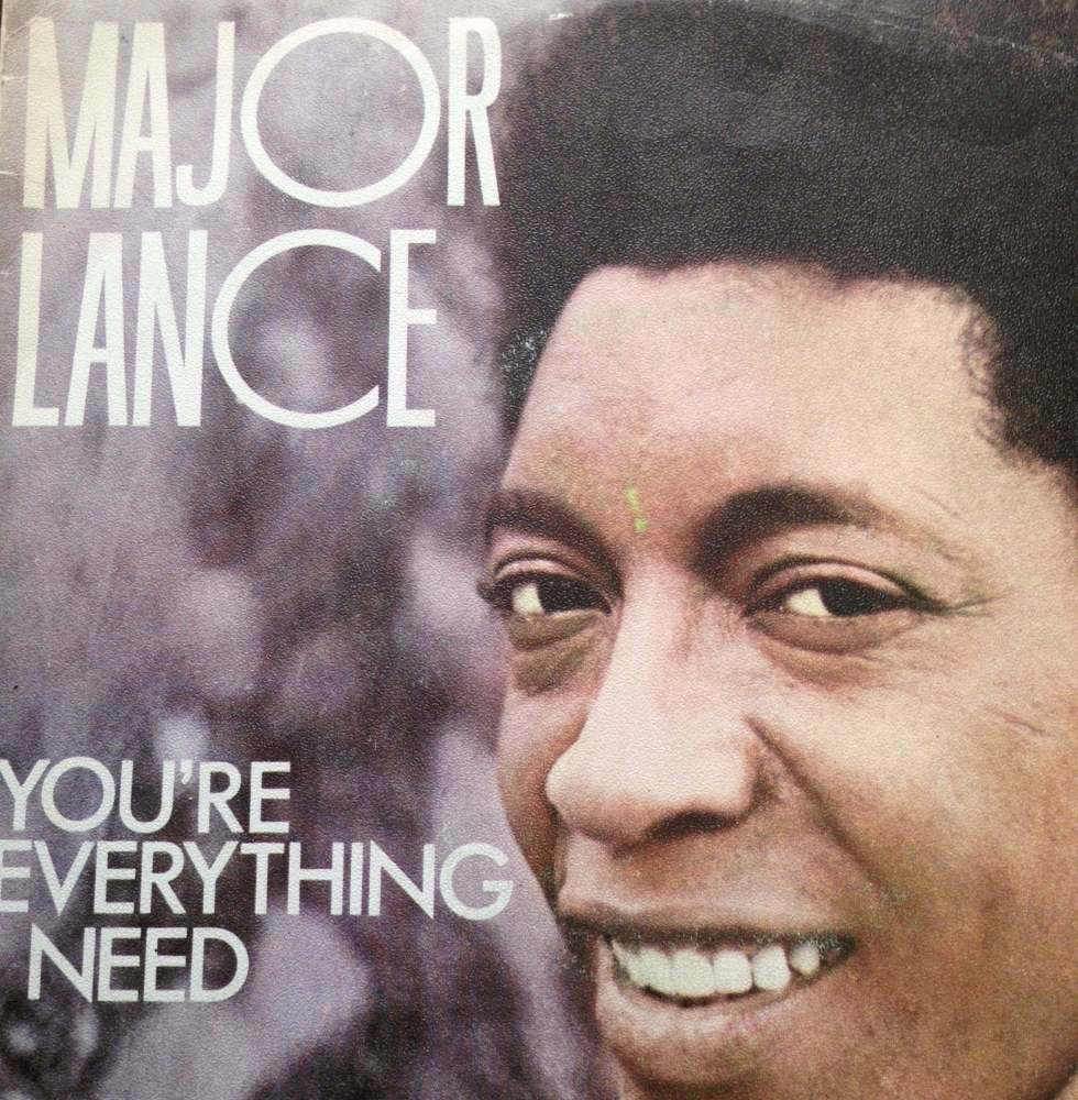 Major Lance-You`re everything I need-Spanish Pye PS E+
