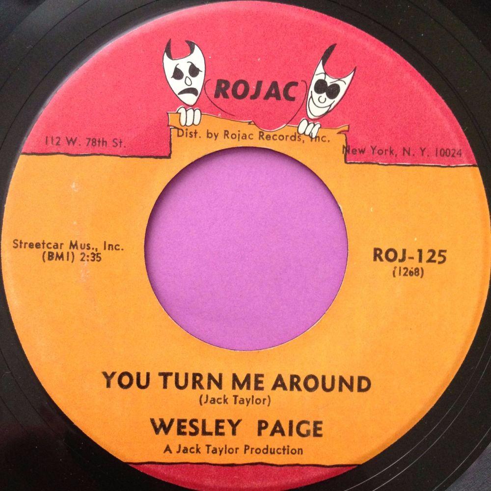 Wesley Paige-You turn me around-Rojac E+