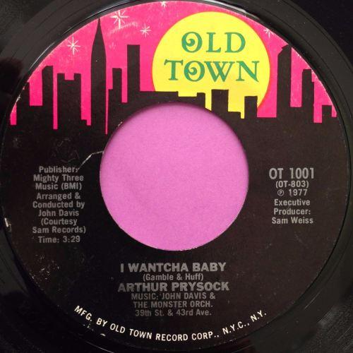 Arthur Prysock-I wantcha baby-Oldtown E+