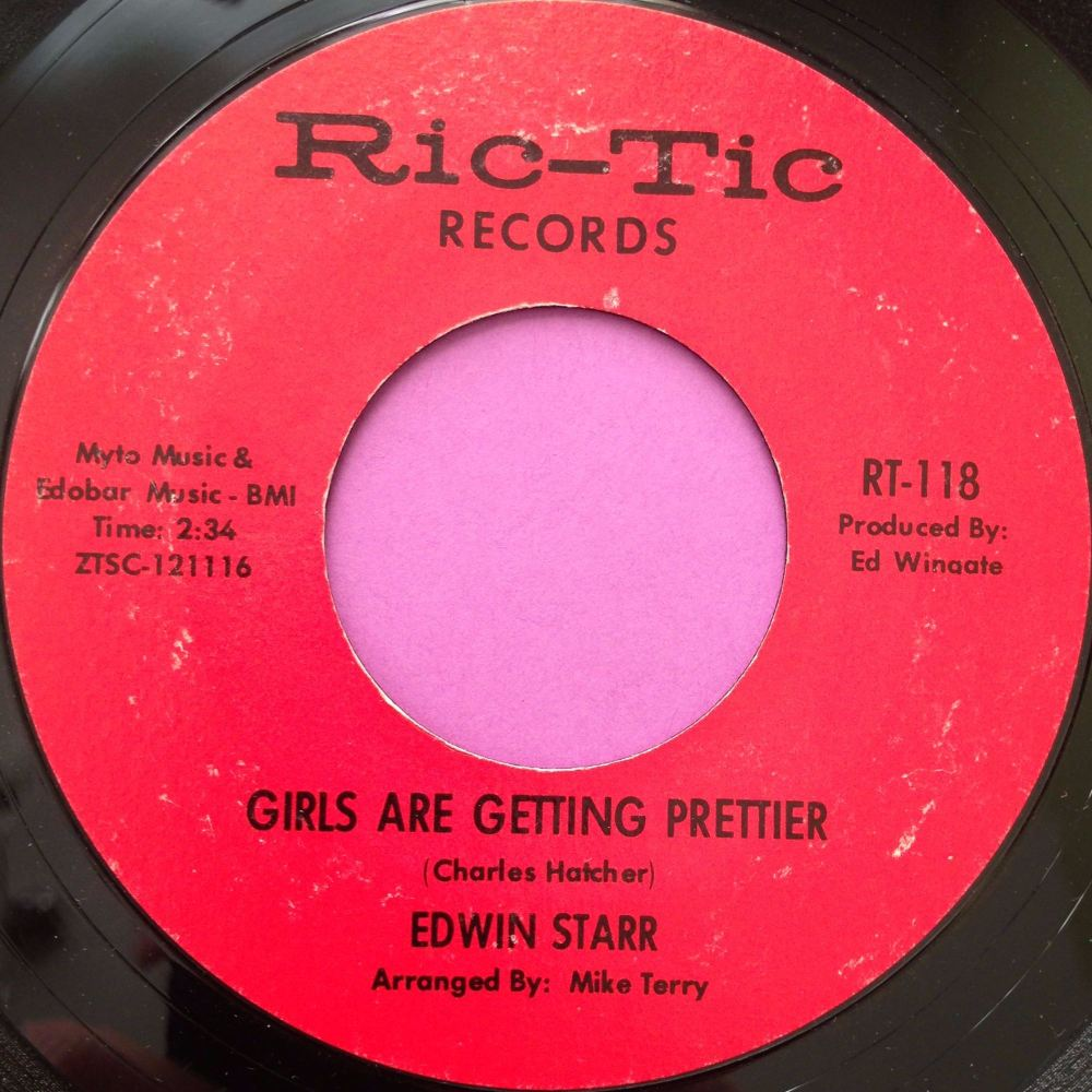 Edwin Starr-Girls are getting prettier-Rictic E+