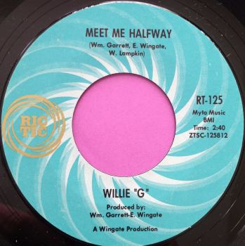 "Willie ""G""-Meet me halfway-Rictic E+"