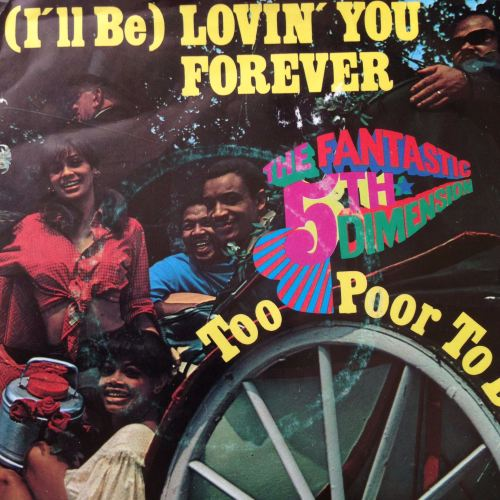 5th Dimension-Too poor to die-German PS E+