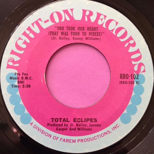 Total Eclipse-You took a heart that was torn to pieces-Right-on E+