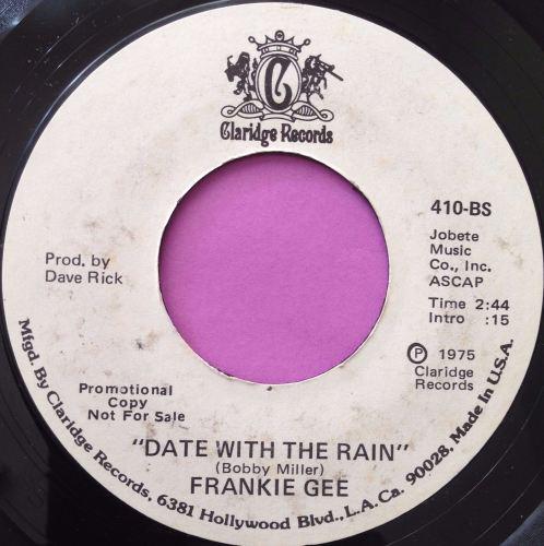 Frankie Gee-Date with the rain-Claridge E