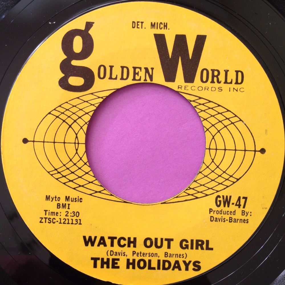 Holidays-Watch out girl-Golden world E+