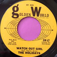 Holidays-Watch out girl-Golden world E+