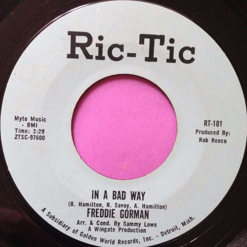 Freddie Gorman-In a bad way-Rictic E+