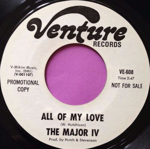 Major iv-All of my love-Venture WD M-