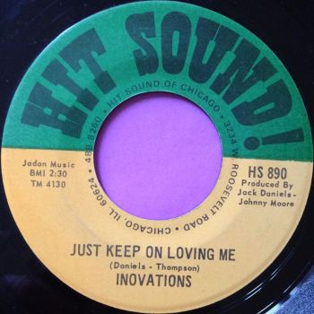 Innovations-Just keep on loving me-Hit sound E+