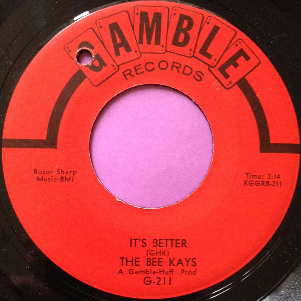 Bee Kays-It`s better-Gamble E+