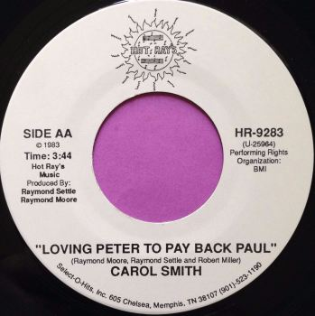 Carol Smith-Loving Peter to play Paul-Hot Rays E+