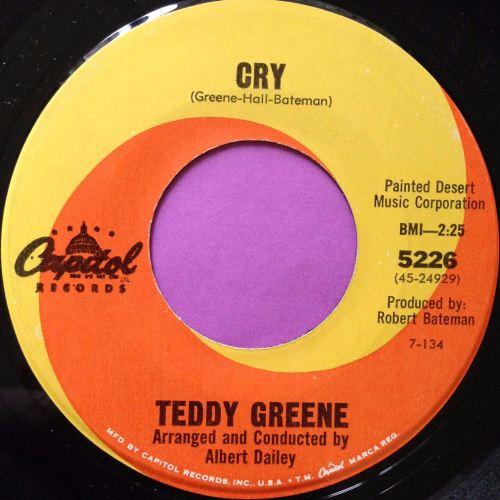 Teddy Greene-Cry-Capitol E+