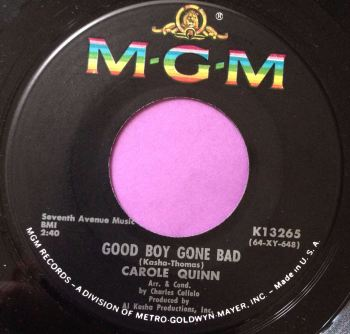 Carole Quin-Good boy gone bad-MGM E+