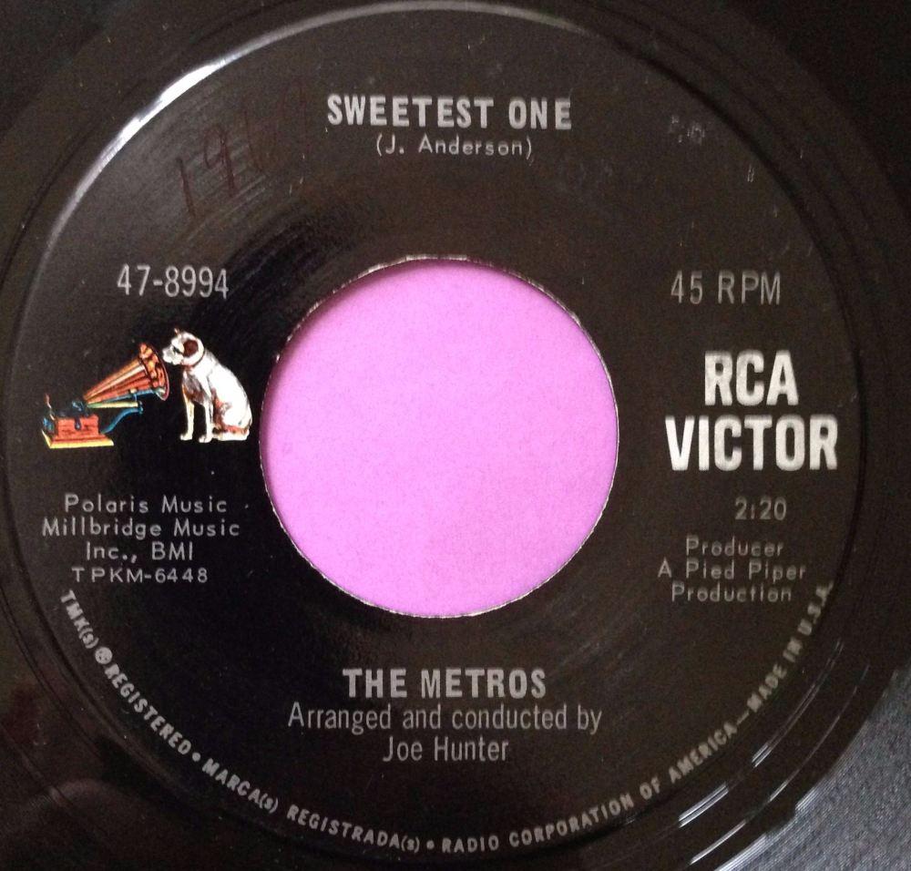 Metros-Sweetest one-RCA E+