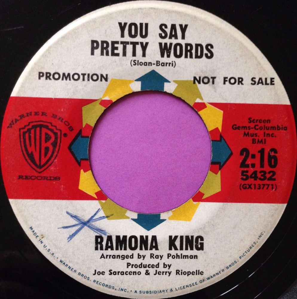 Ramona King-You say pretty words-WB vg+