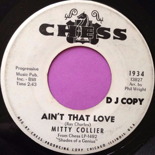 Mitty Collier-Ain`t that love-Chess WD E