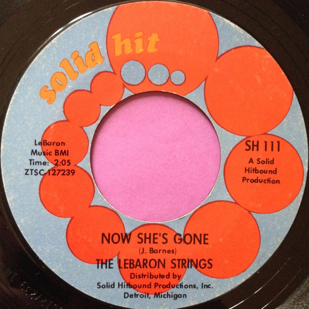 Lebarron Strings-Now she`s gone-Solid hit E