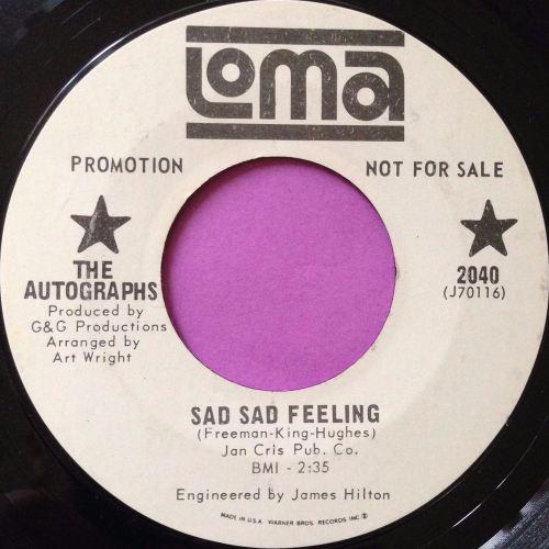 Autographs-Sad sad feeling-Loma WD E+