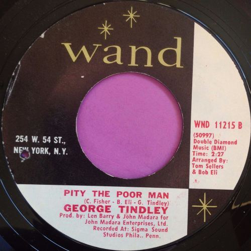 George Tindley - Pity the poor man - Wand - E+