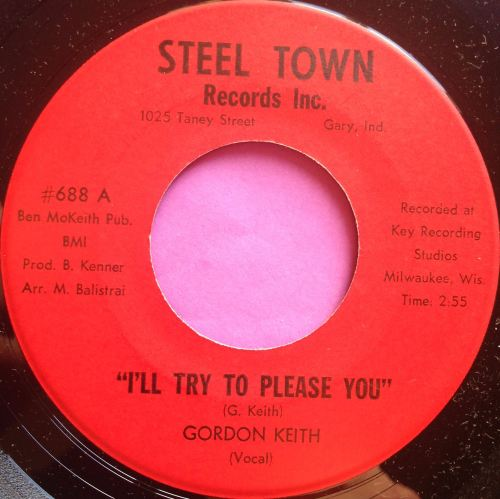 Gordon Keith-I`ll try to please you-Steel town E+
