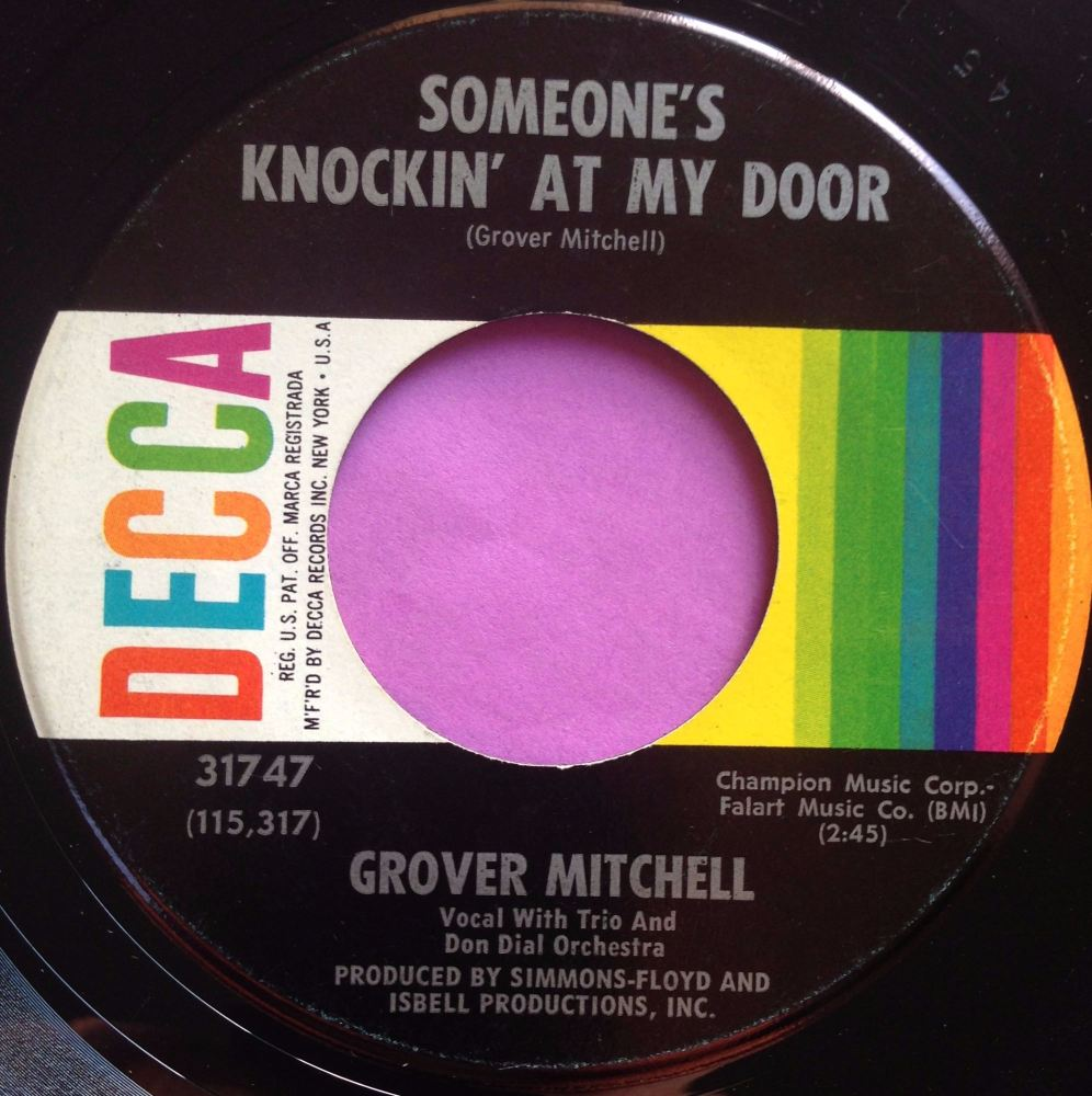 Grover Mitchell-Someone`s knocking on my door-Decca E+