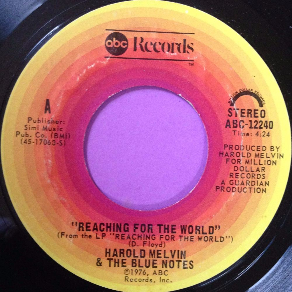 Harold Melvin - Reaching for the world - ABC - M-
