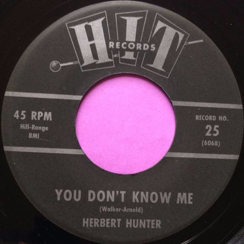 Herbert Hunter- You don't know me- Hit E