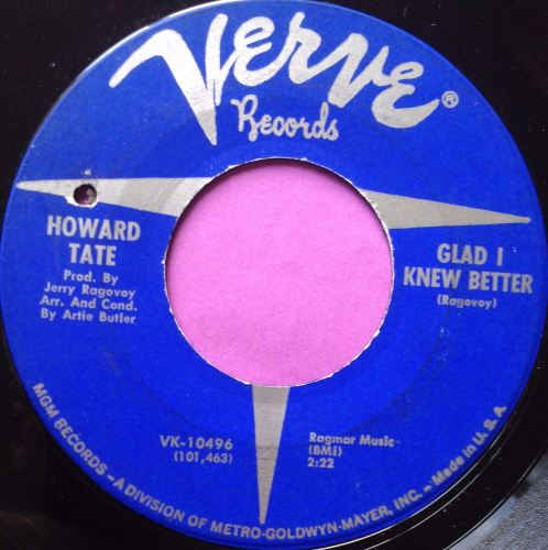 Howard Tate-Glad I knew better-Verve E