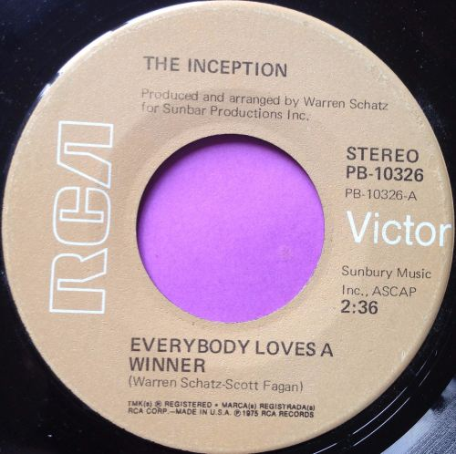 Inception-Everybody loves a winner-RCA E+