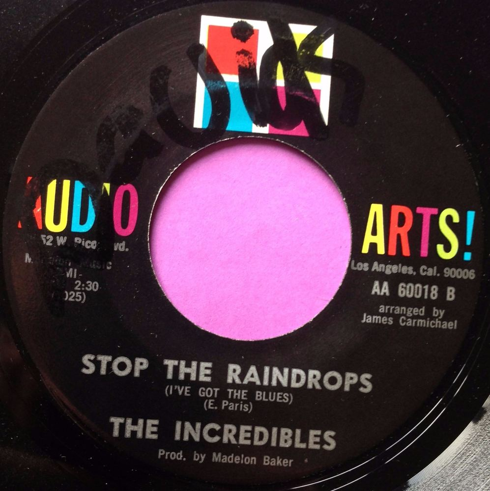 Increadibles-Stop the raindrops-Audio arts E+ stkr