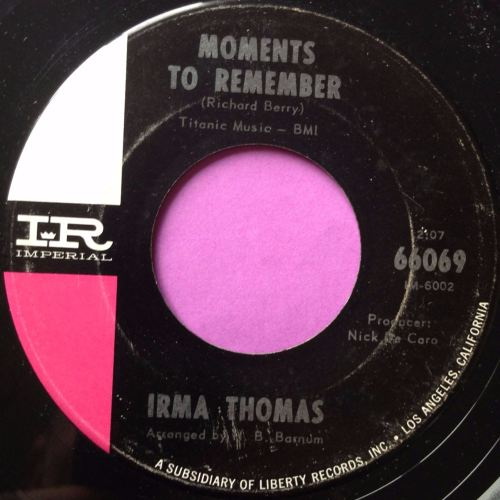 Irma Thomas - Moments to remember - Imperial - E+