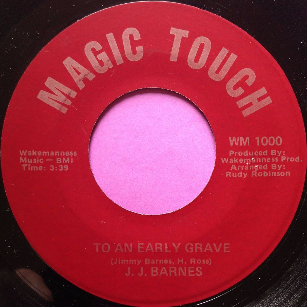 J. J Barnes-To an early grave-Magic touch E+