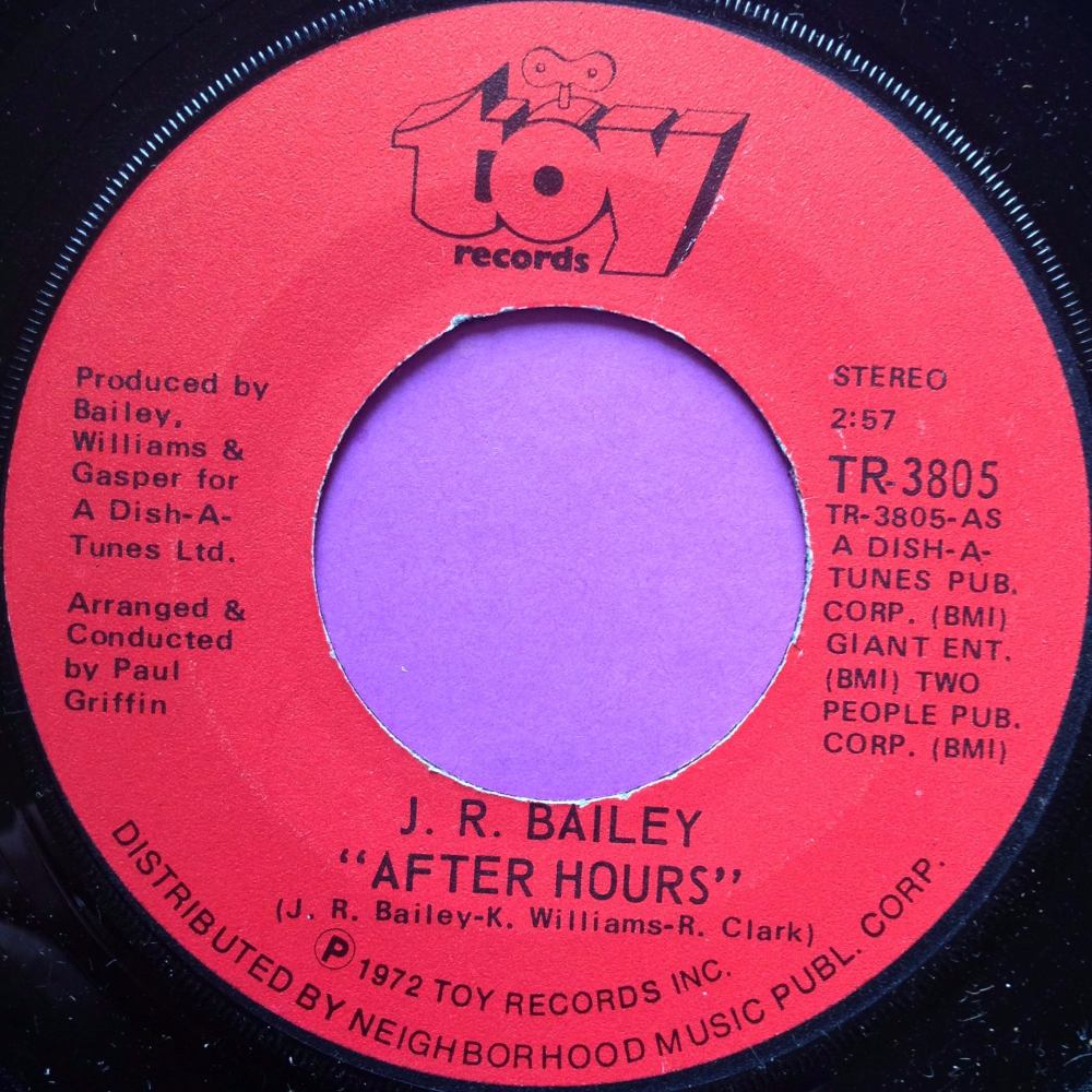 J.R Bailey-After hours-Toy WD E+