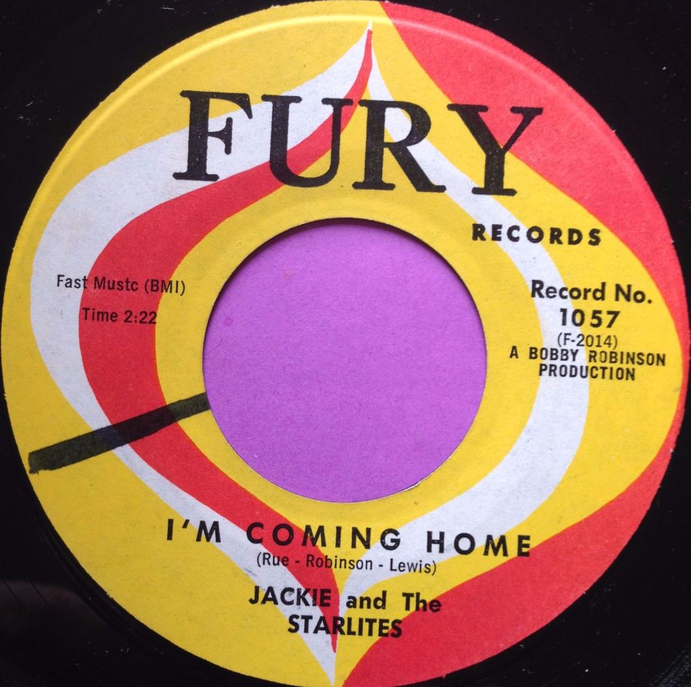 Jackie and the Starlites-I`m coming home-Fury E+