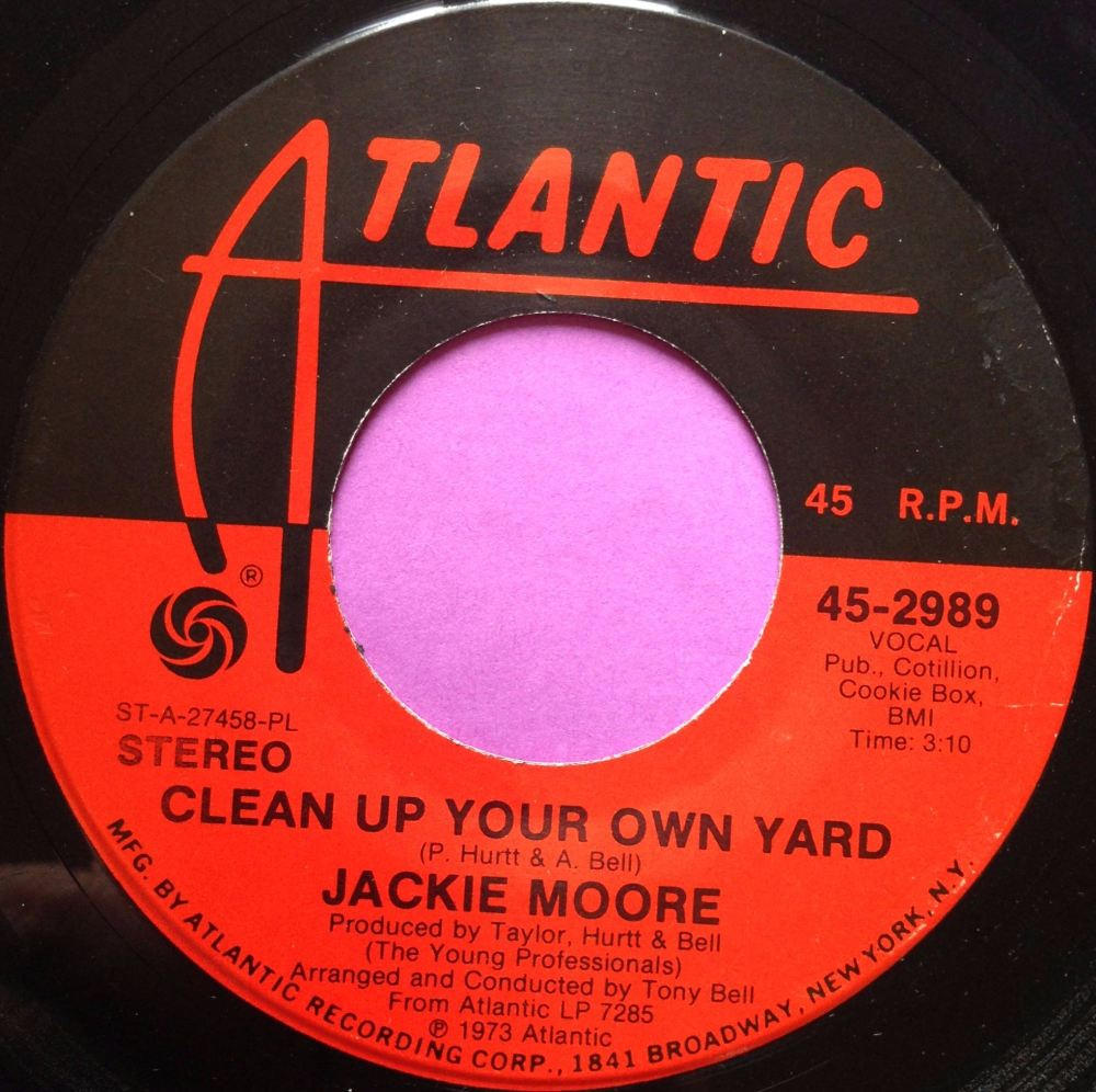 Jackie Moore-Clean up your own yard-Atlantic E+