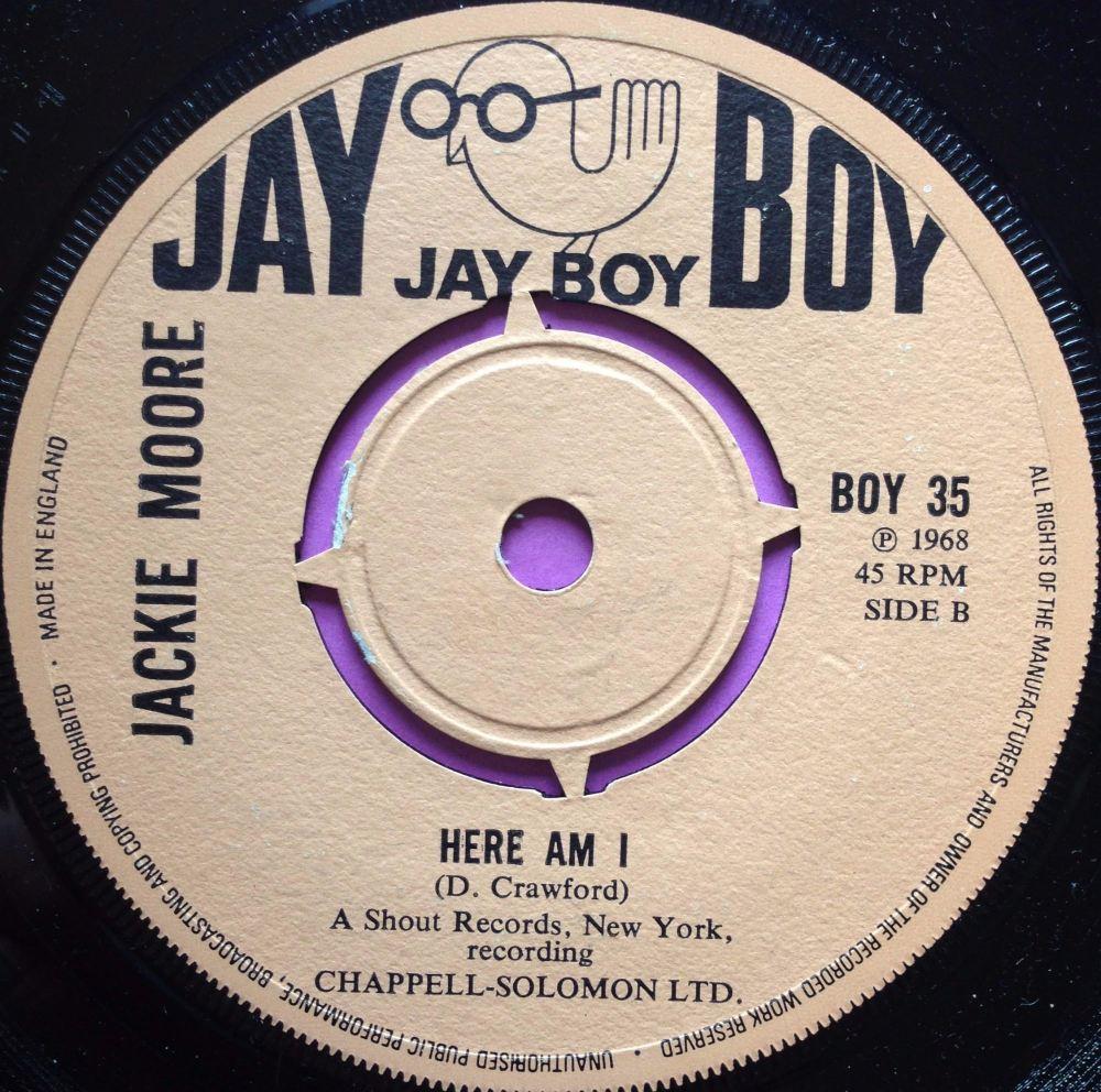 Jackie Moore-Here I am-Jayboy M-