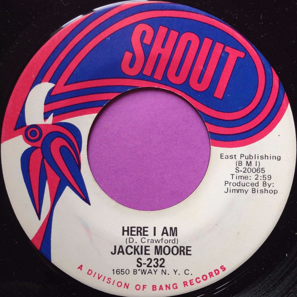 Jackie Moore-Here I am-Shout M-