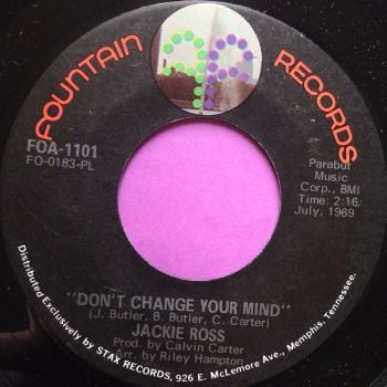 Jackie Ross-Don`t change your mind-Fountain E