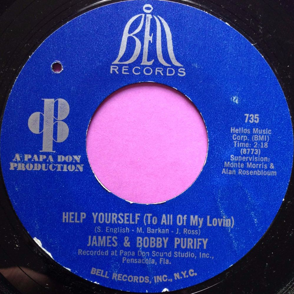 James and Bobby Purify-Help yourself-Bell E+