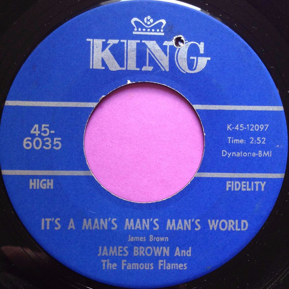 James Brown-It`s a man`s man`s world-King E+