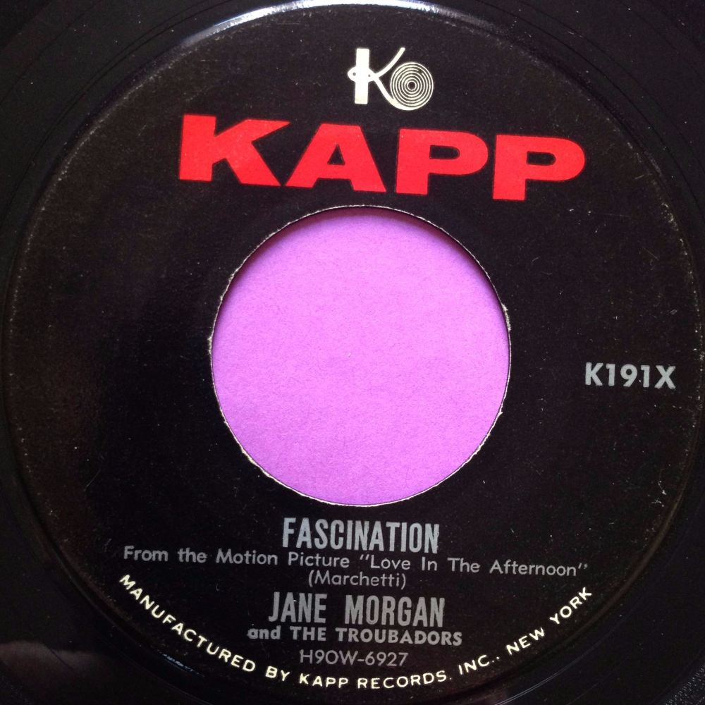 Jane Morgan- Fascination- Kapp E