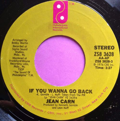 Jean Carn-If you wanna go back-PIR E+