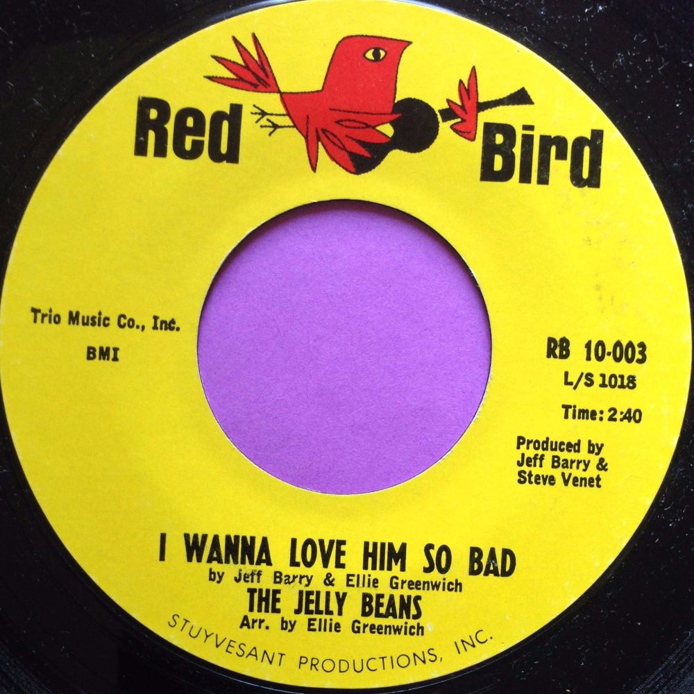 Jelly Beans-I wanna love him so bad-Red bird M-