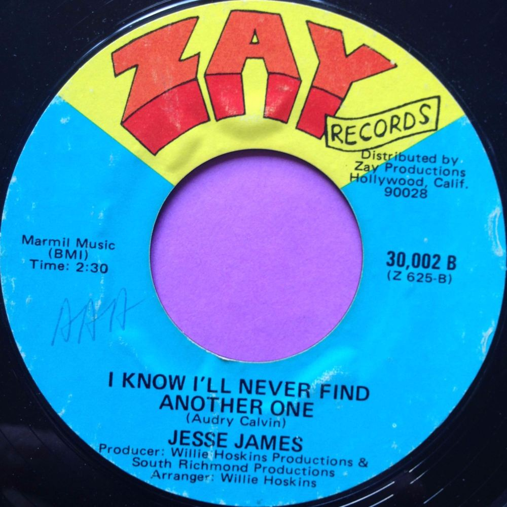 Jesse James-I know I`ll never find another one-Zay E+