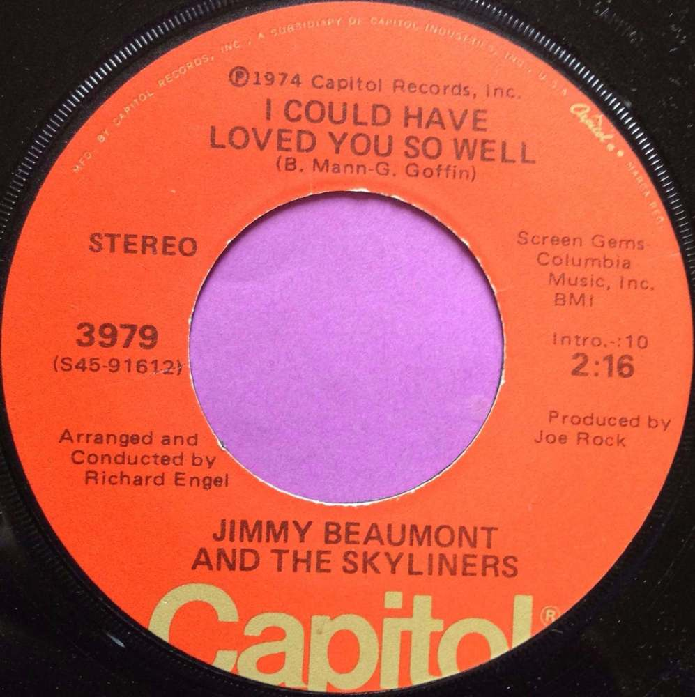 Jimmy Beaumont-I could have loved you so well-Capitol M-