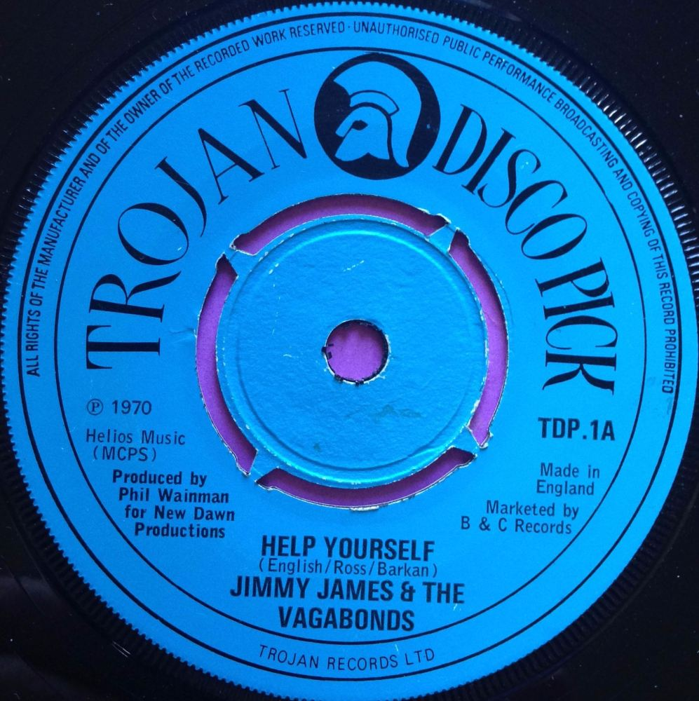 Jimmy James-Help yourself-Trojan UK E