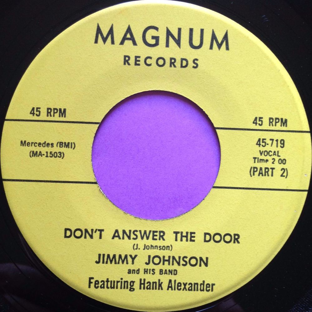 Jimmy Johnson-Don`t answer the door-Magnum M-